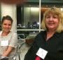 Actress Monica Lasek & Filmmaker Mary Skinner (Jane Robbins)