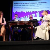 Ewa Juńczyk-Ziomecka participating in the Memory-Dialogue-Reconciliation conference in Kielce (May 2016) (Photo: Courtesy of the Jan Karski Association)