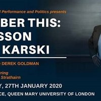 Karski play coming to Queen Mary University in London