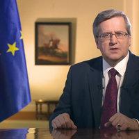 Prezydent RP Bronisław Komorowski o Janie Karskim