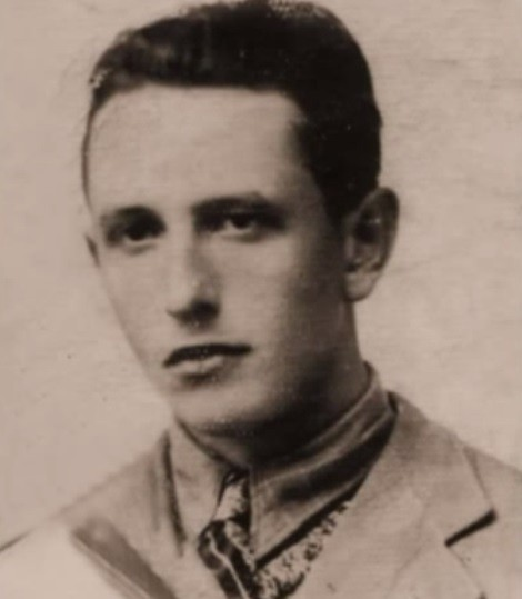 Wladyslaw Zaroffe as a young man