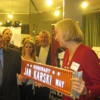 Polish American Chamber of Commerce and IWA Members Hear about Karski