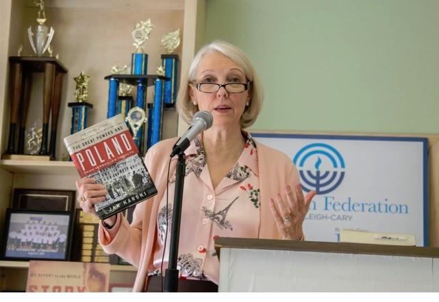 Wanda Urbanska shares Karski's book about Poland between the wars