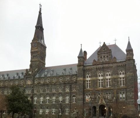 Georgetown University (Photo: Bożena U. Zaremba)