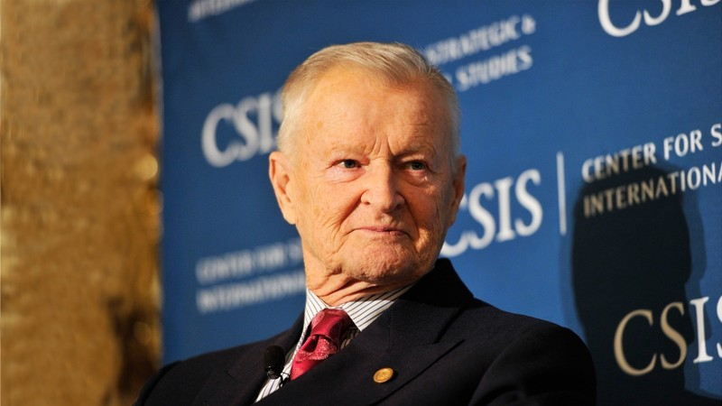 Zbigniew Brzezinski at the Center for Strategic and International Studies (Photo: CSIS)
