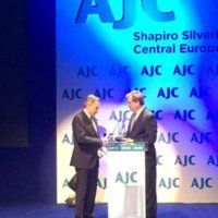 Karski Award Presented at the Opening of an AJC Office in Warsaw