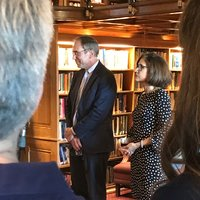 """Georgetown Press's Richard Brown Hailed as a """"Man of Integrity and Vision"""