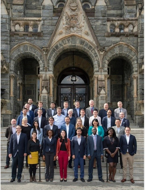 Participants of the 2017 Georgetown Leadership Seminar (Photo: Courtesy of Georgetown University)