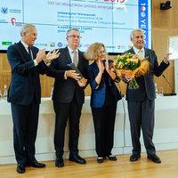 Professor Peter F. Krogh Honored with the Spirit of Jan Karski Award
