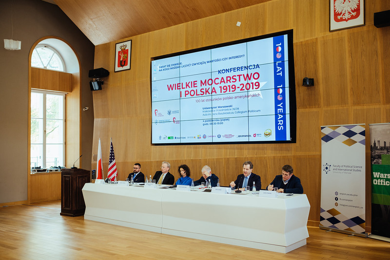 Conference The Great Power and Poland: 1919-2019 (Photo: Przemek Bereza)