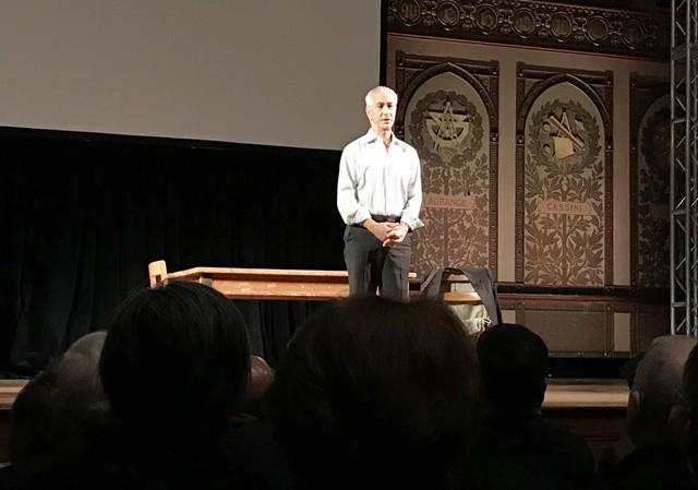 Academy Award-nominated actor, David Strathairn gave a stunning performance as Jan Karski (Photo: Ewa Junczyk-Ziomecka)