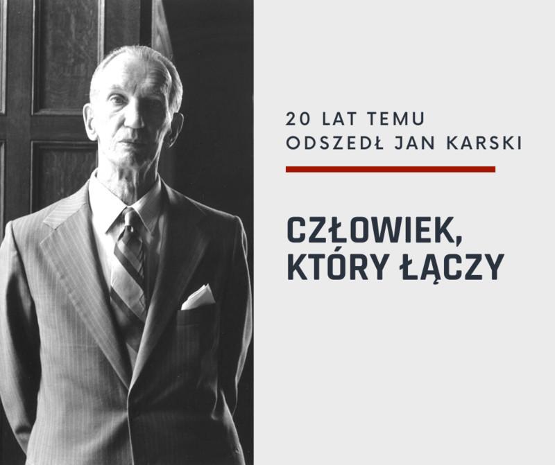 Program uroczystości upamiętnienia Jana Karskiego
