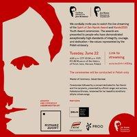 Announcing the Recipient of the Spirit of Jan Karski Award