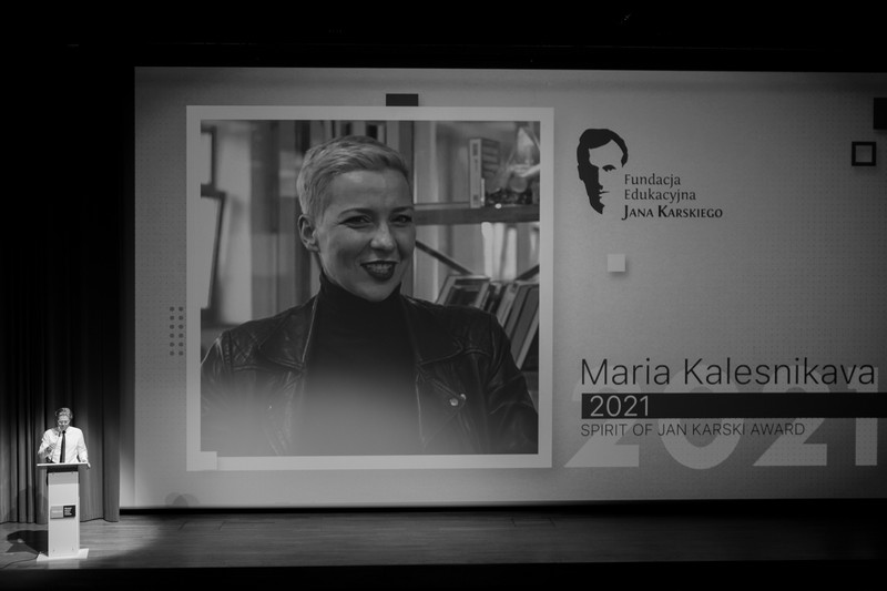 From the Spirit of Jan Karski Award ceremony, June 22, 2021 (Photo: Ewa Radziewicz)